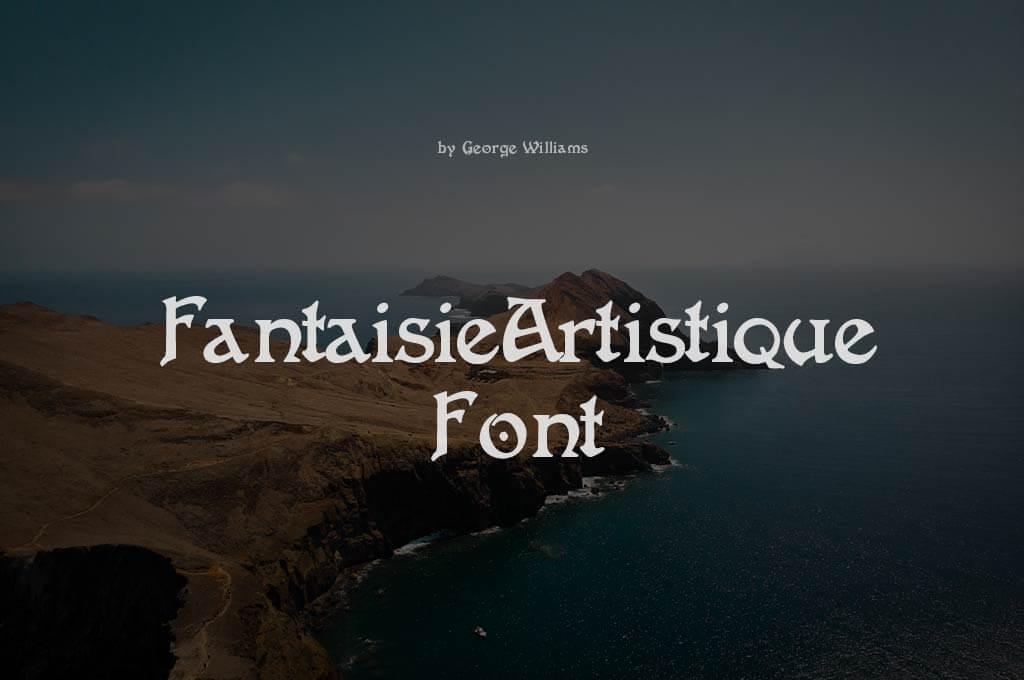 FantaisieArtistique Font