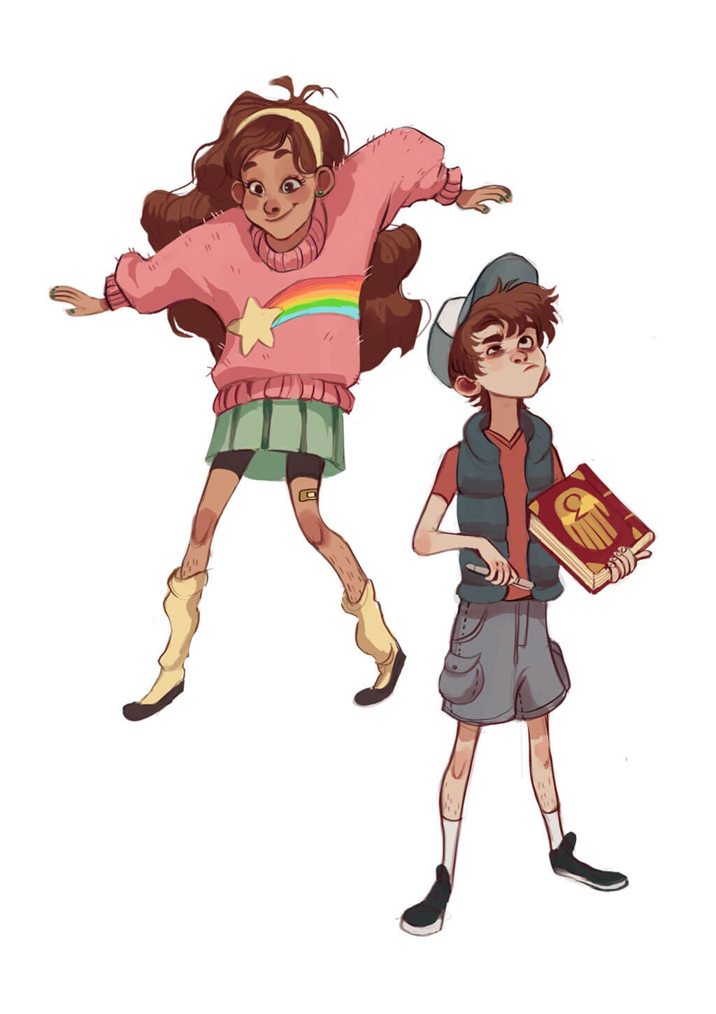 Gravity Falls fan art by asianartiste