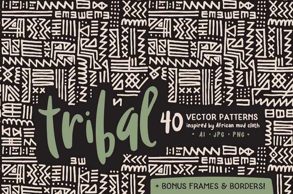 Handmade Tribal Pattern Pack