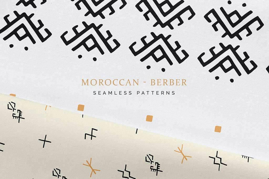 Moroccan Berber Seamless Patterns