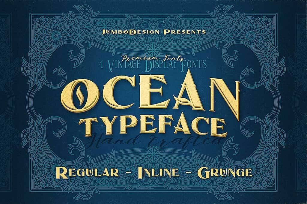 Ocean - Display Font