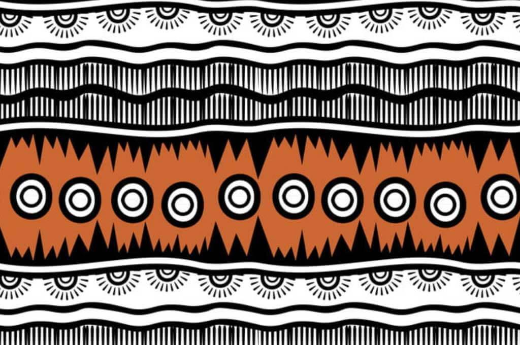 Retro Colors: Tribal Vector Seamless Navajo Pattern