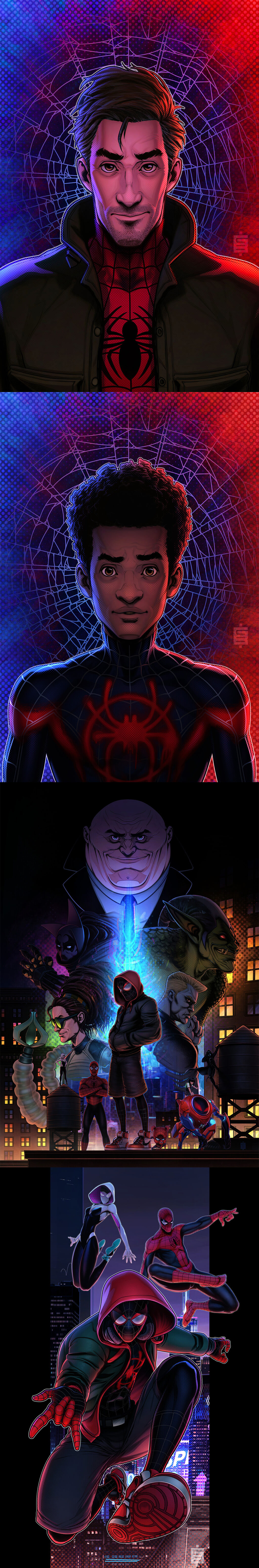 Spider-Man Fan Art by Bulat Gazizov