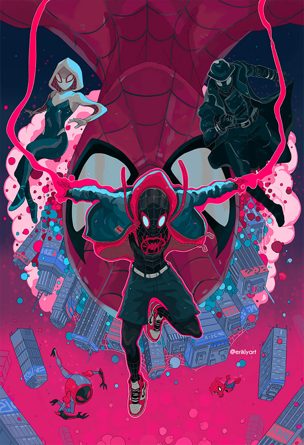 Spider-Man Fan Art by Erik Ly