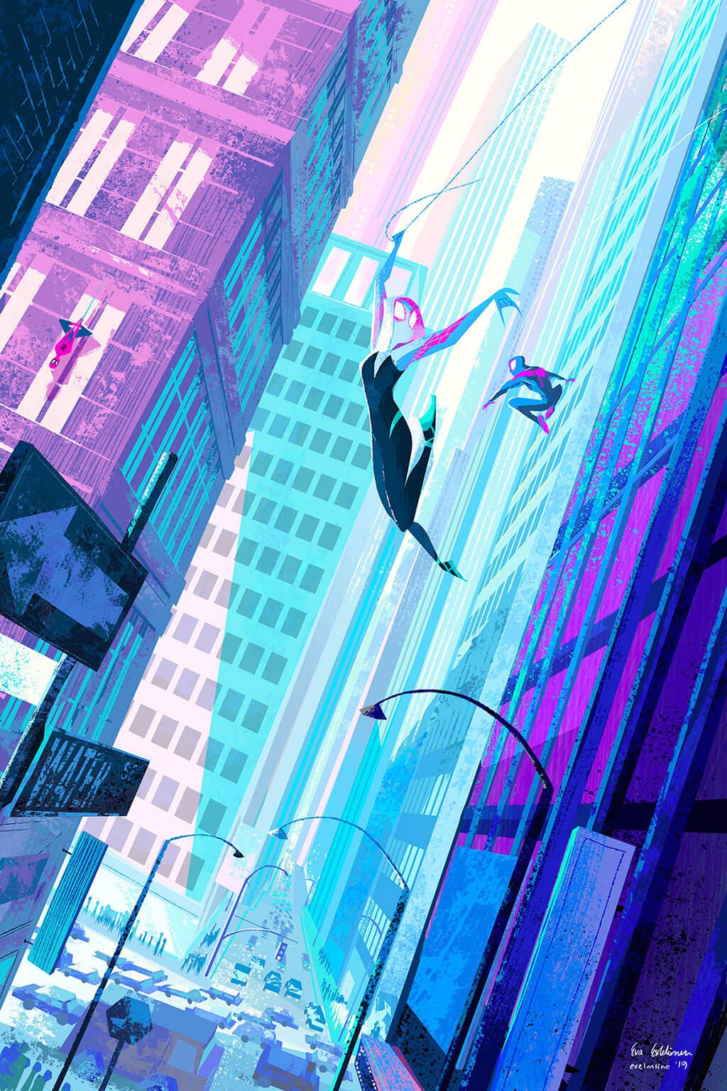 Spider-Man Fan Art by Eva Eskelinen