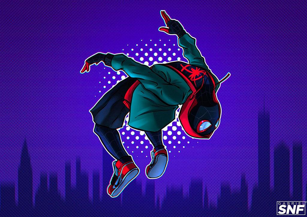 Spider-Man Fan Art by Gabriel Ferreira
