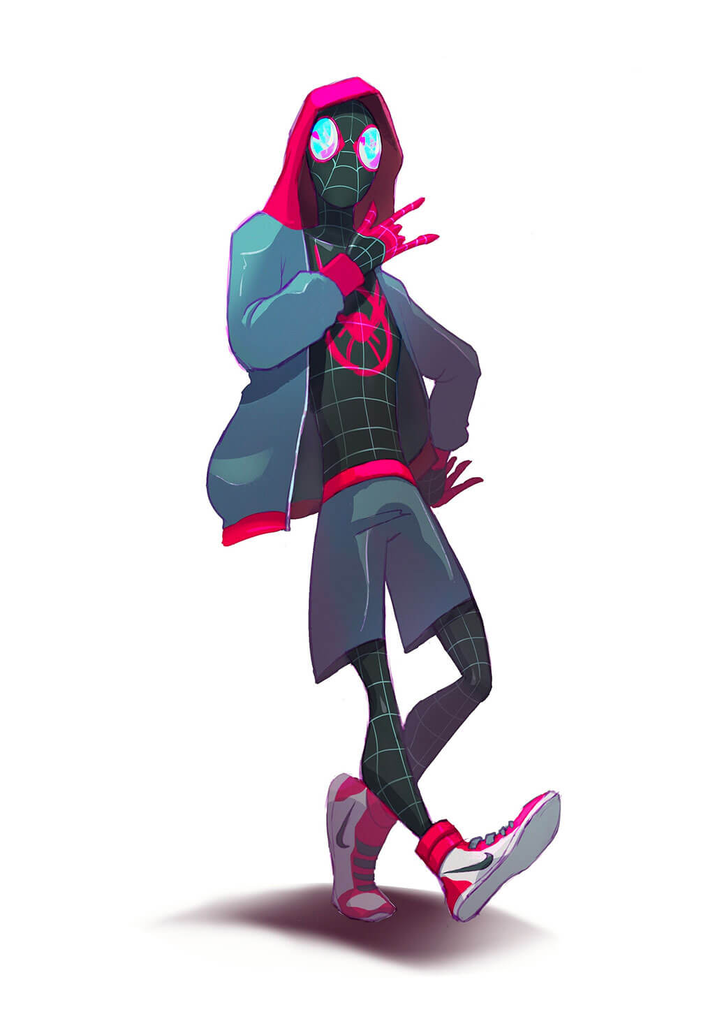 Spider-Man Fan Art by Michelle Lo