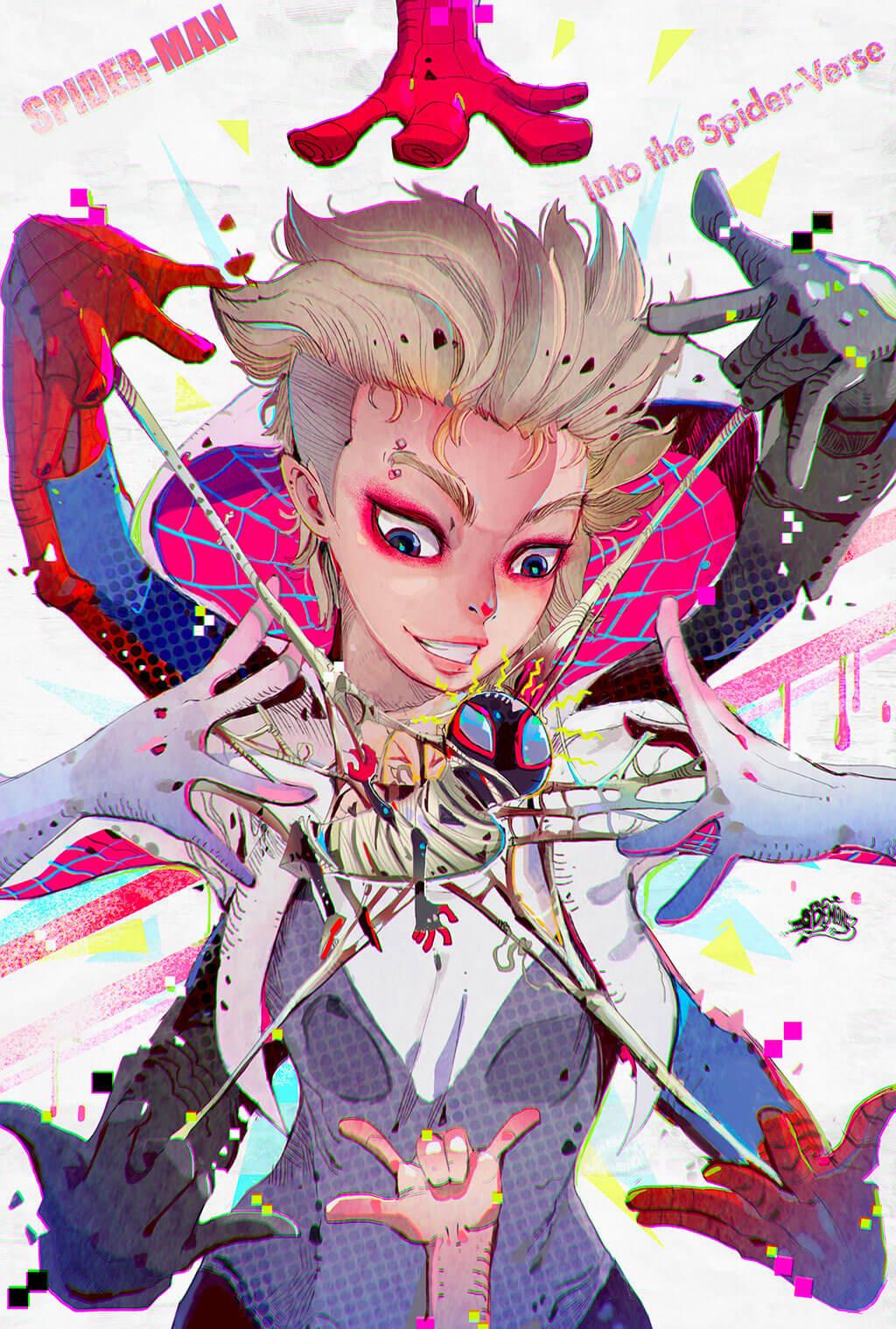 Spider-Man Fan Art by Narupiti Harunsong