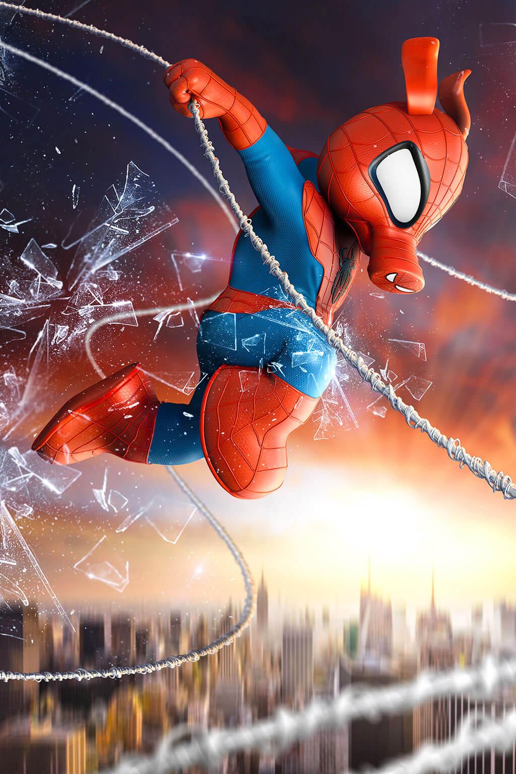 Spider-Man Fan Art by Óscar Fernández