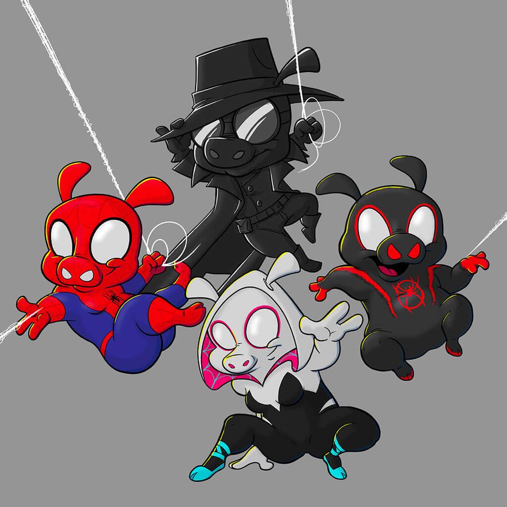 Spider-Man Fan Art by Steve Richardson