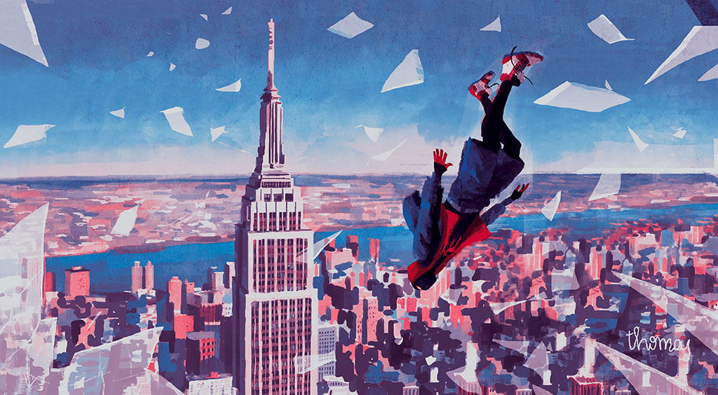 Spider-Man Fan Art by Thomas Campi