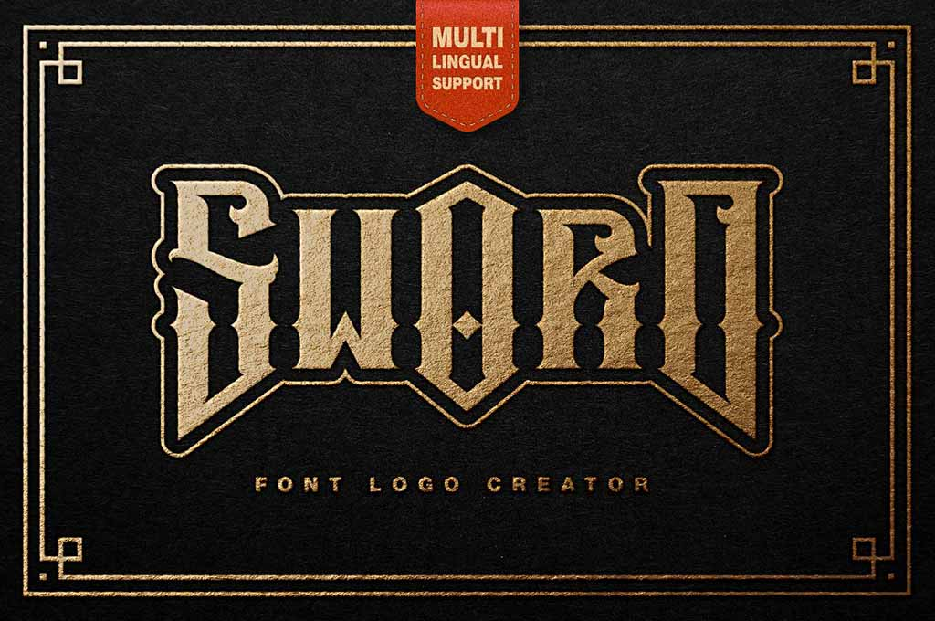 Sword Font Logo Creator
