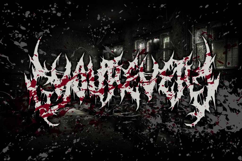 Yourever — Brutal Death Metal Font