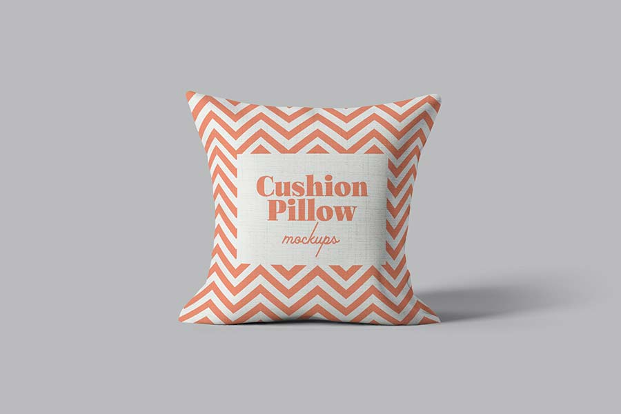 Cushion Pillow Mockups