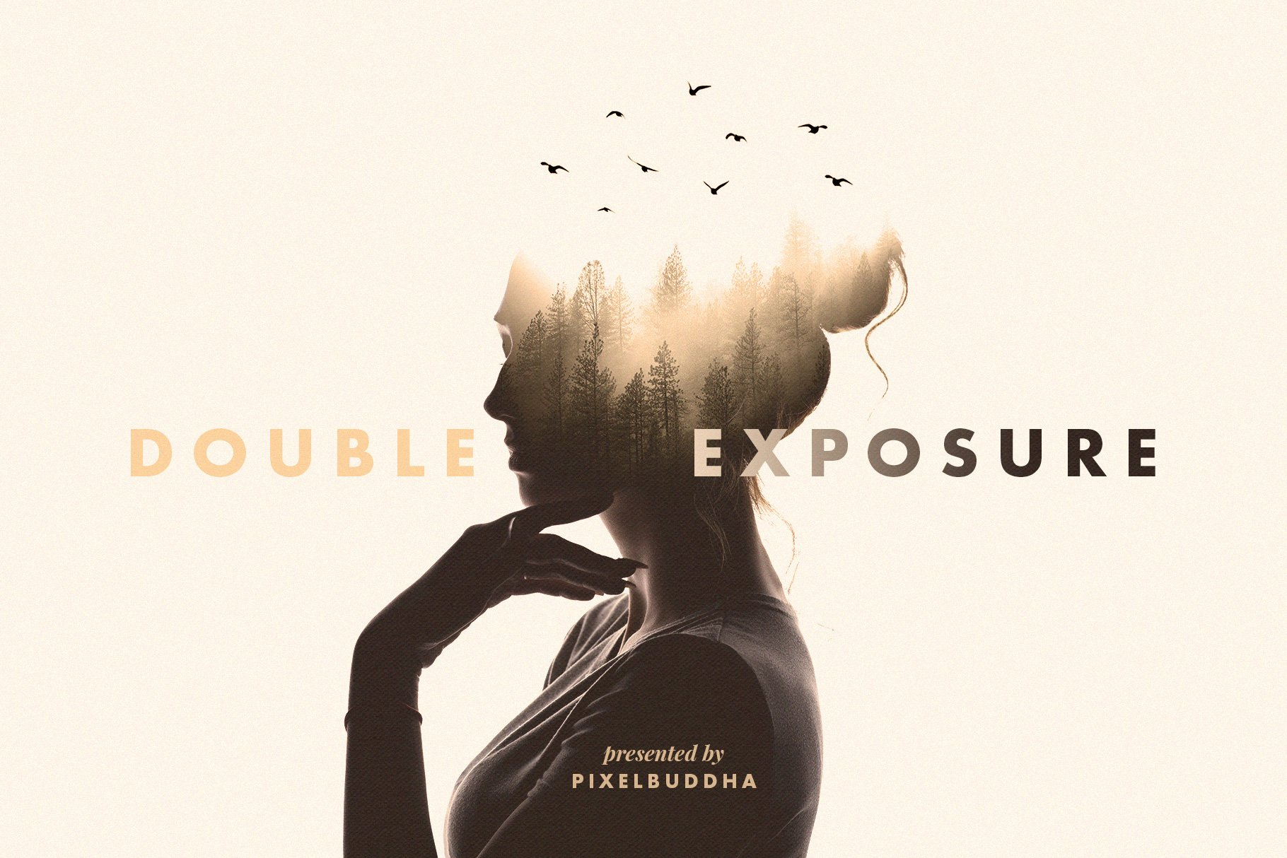 Double Exposure Photoshop Effect by Pixelbuddha