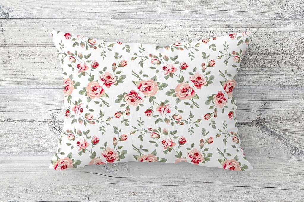 Lumbar Pillow Mockup