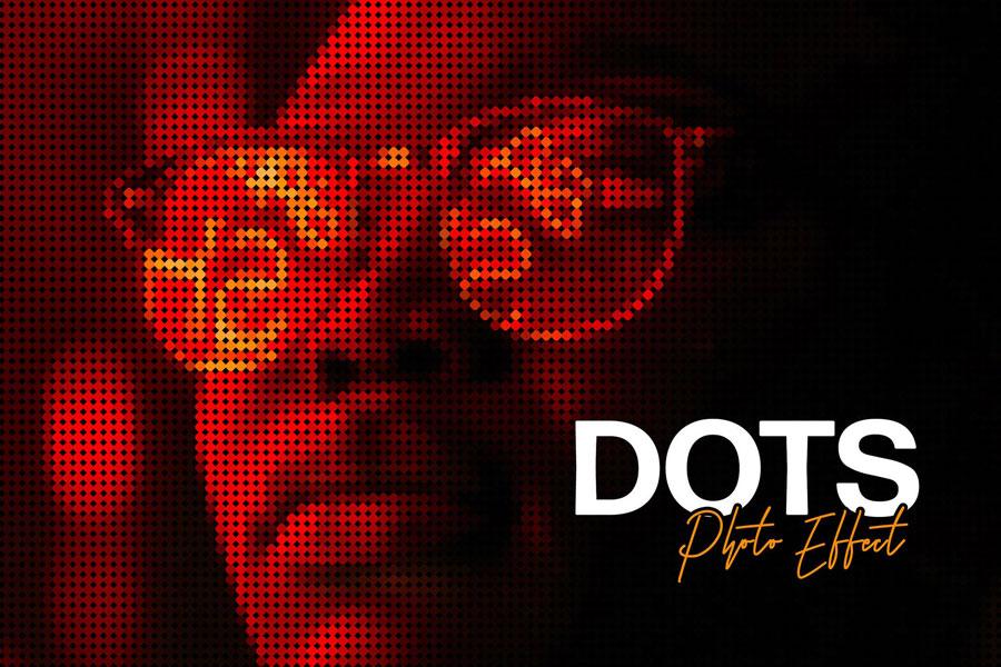 Matrix Dot Photoshop Effect