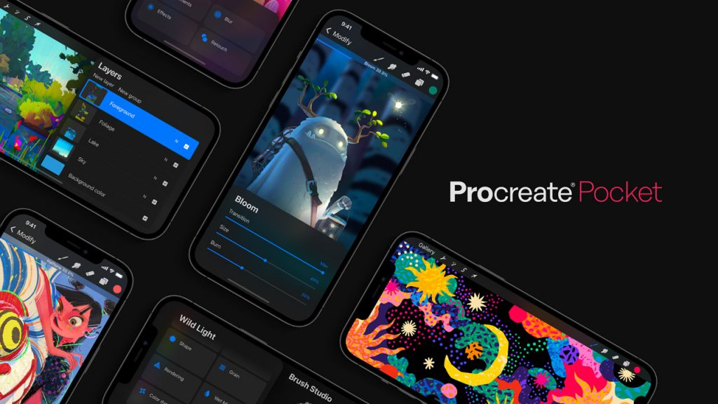 New Procreate Pocket Features