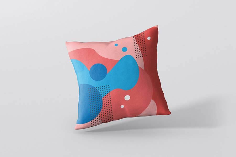 Pillow Mockup - Square