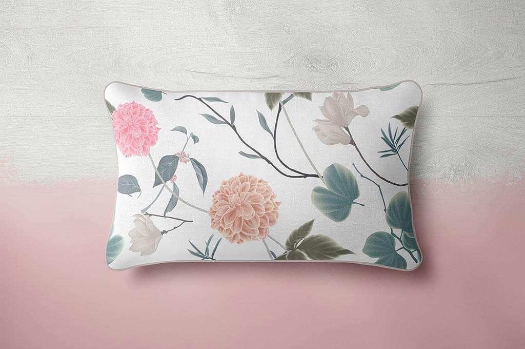 Piping Pillow Mockup 30x50cm
