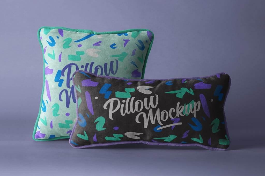 Psd Throw Pillow Mockup Set