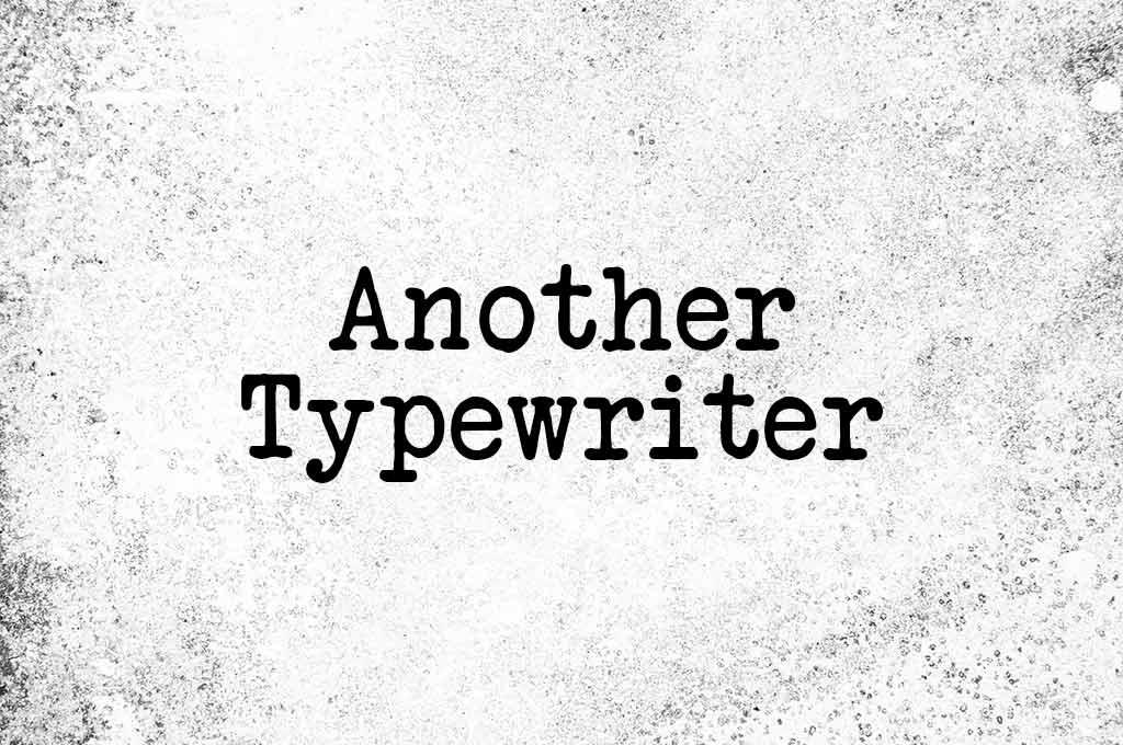 Another Typewriter