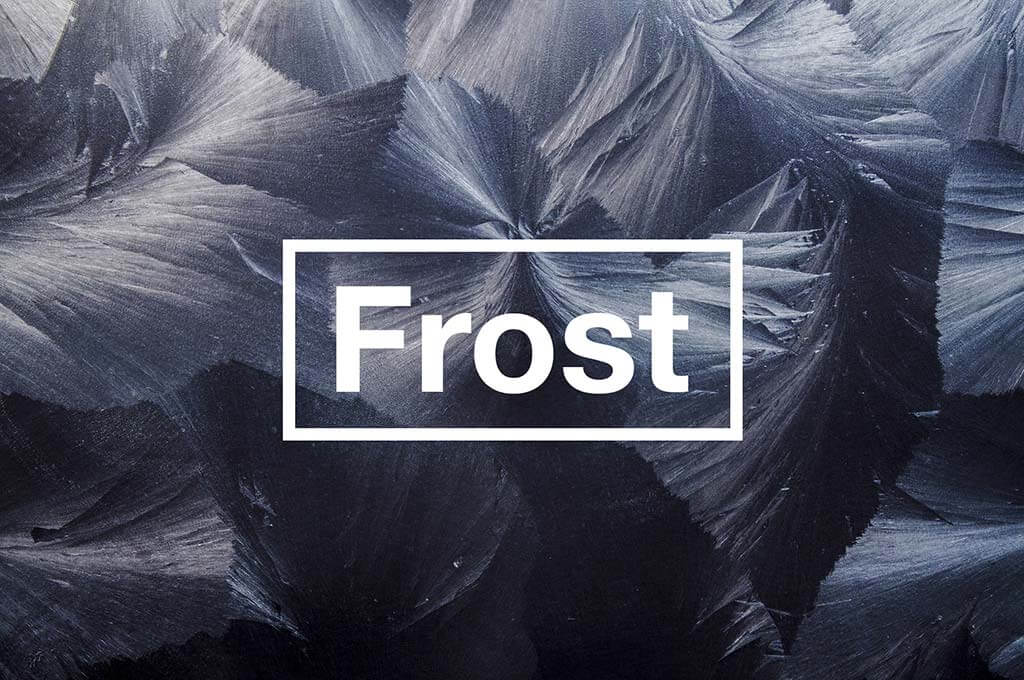 Artistic Frost Textures