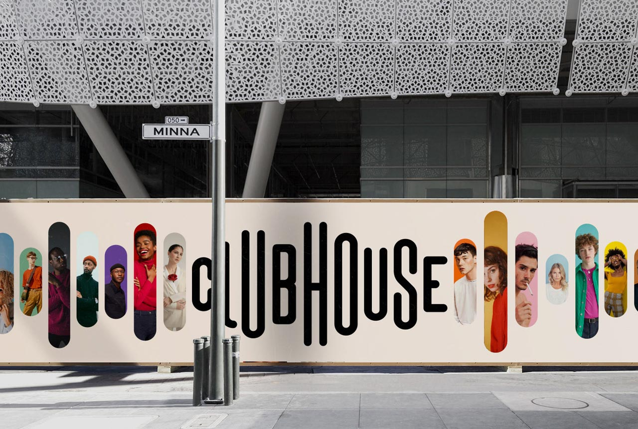 Brand Identity Concept for Clubhouse Which Surpasses the Original Design
