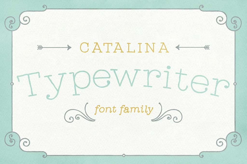 Catalina Typewriter