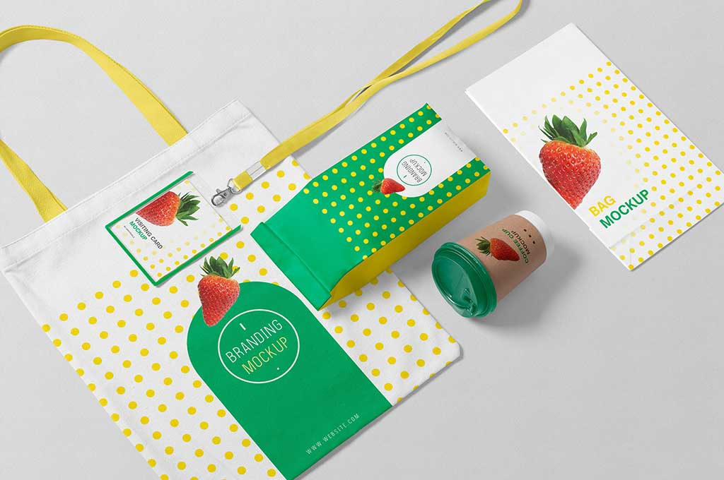 Free Packaging Mockup Scene