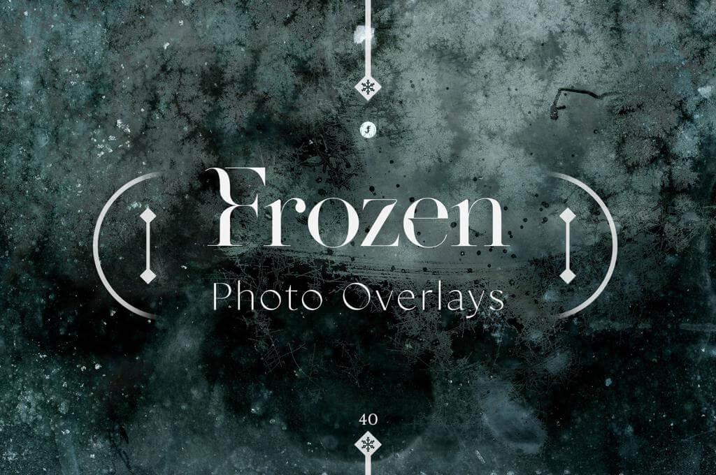 Frozen Photo Overlays