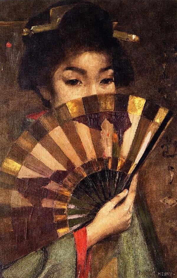 Geisha Girl, George Henry