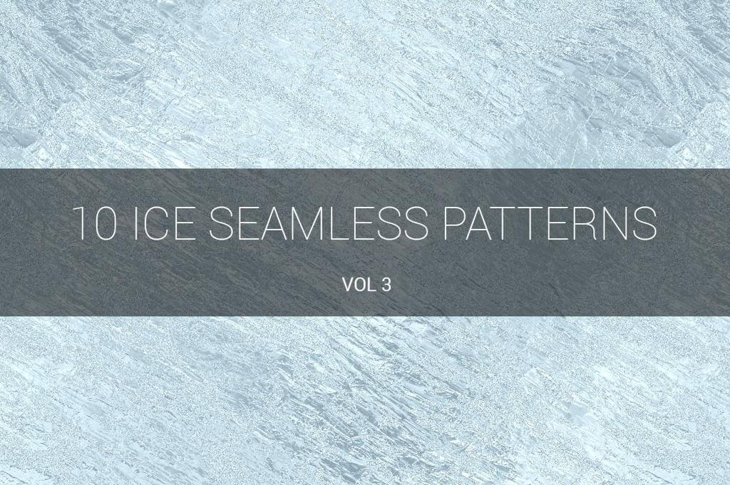 Ice Seamless Patterns
