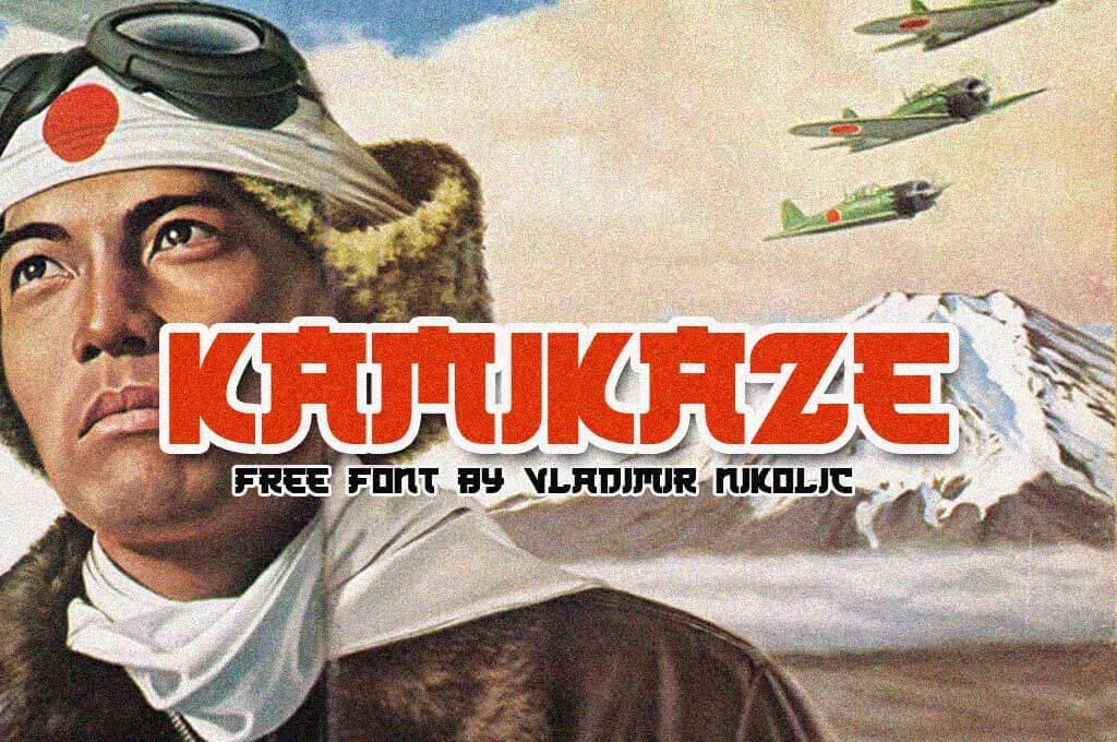 Kamikaze Font Family