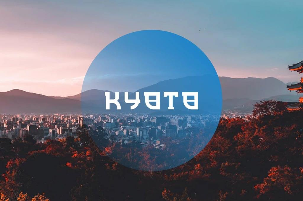 Kyoto - Japanese Display Typeface