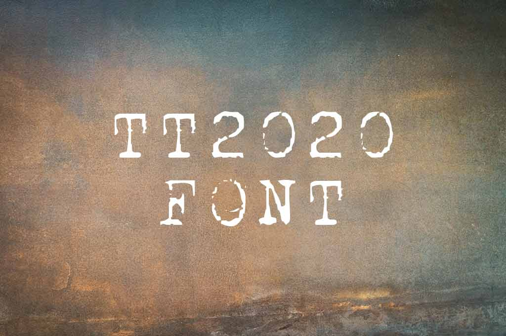 TT2020 Font