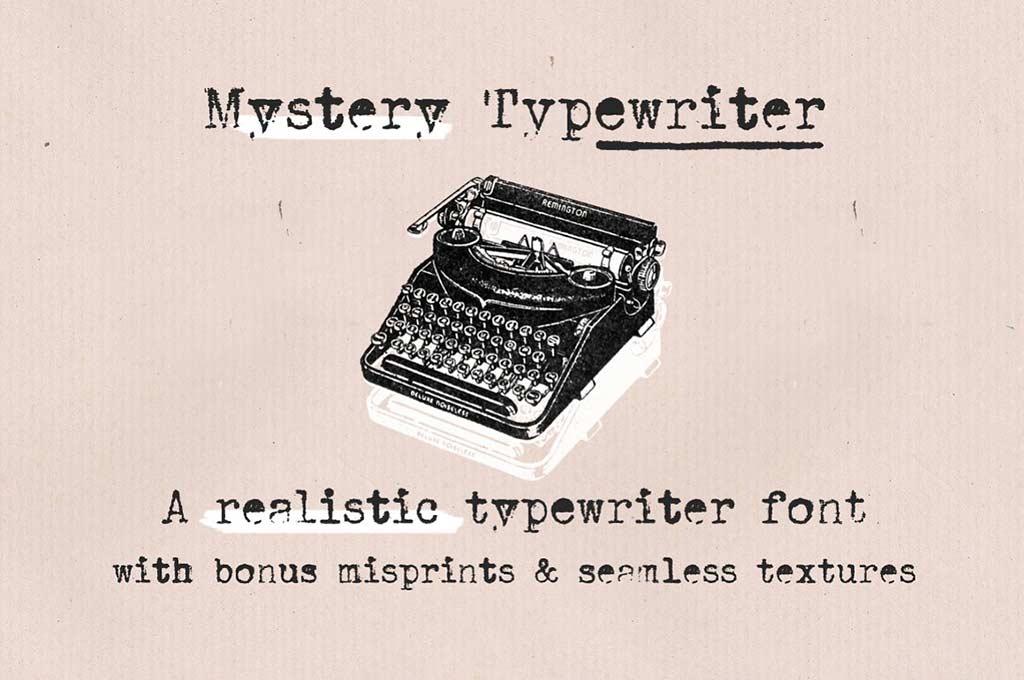 Typewriter Font Bundle