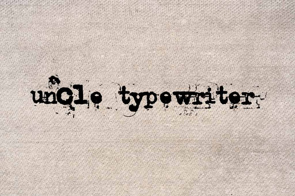 Uncle Typewriter