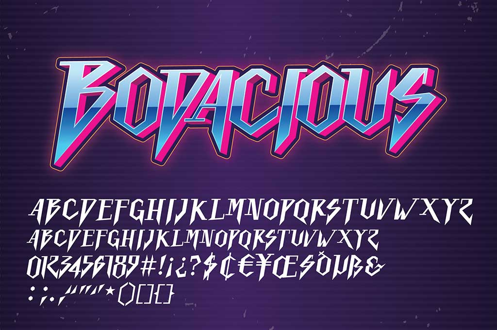 Bodacious Font