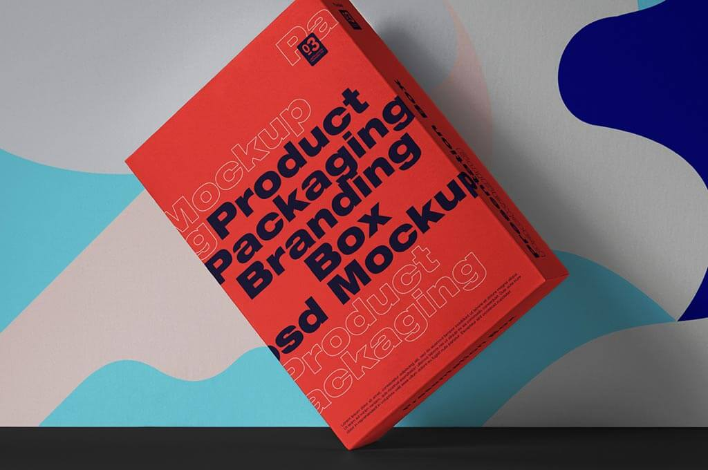 Box Psd Packaging Mockup