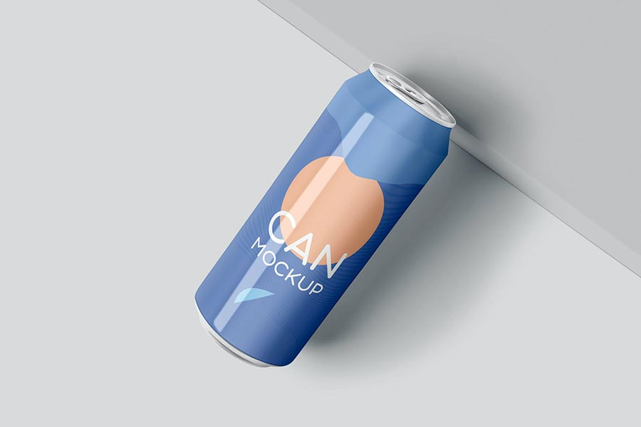 Can Mockup - 500ml