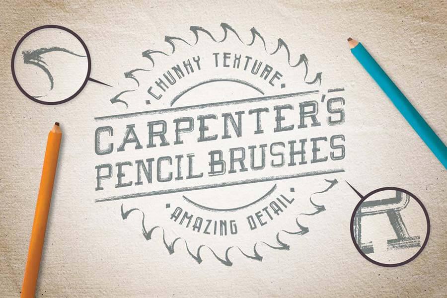 Carpenter's Pencil Brushes