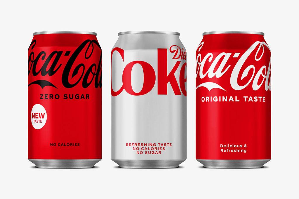 Coca-Cola Presents New Packaging Design