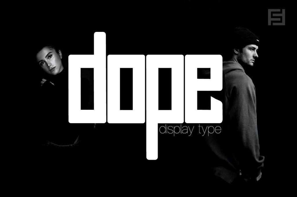DOPE — Unique Display / Logo Typeface