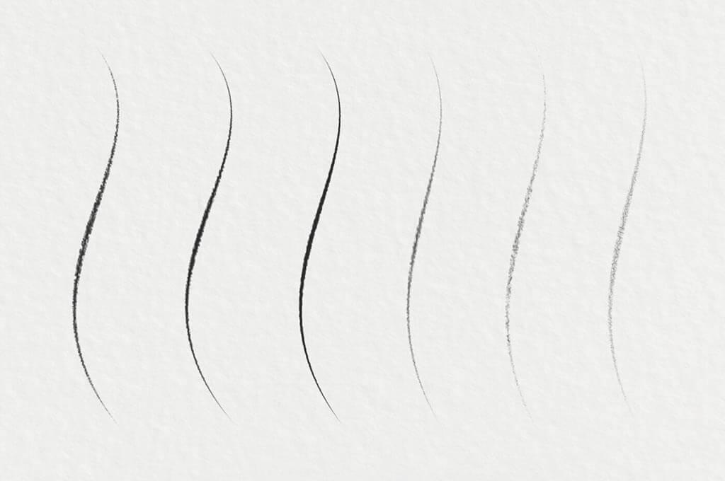 Free Graphite Pencil Photoshop Brushes
