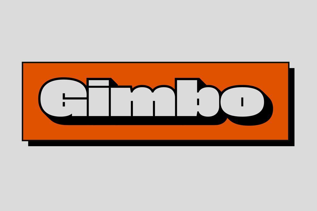 Gimbo — Big Display Font
