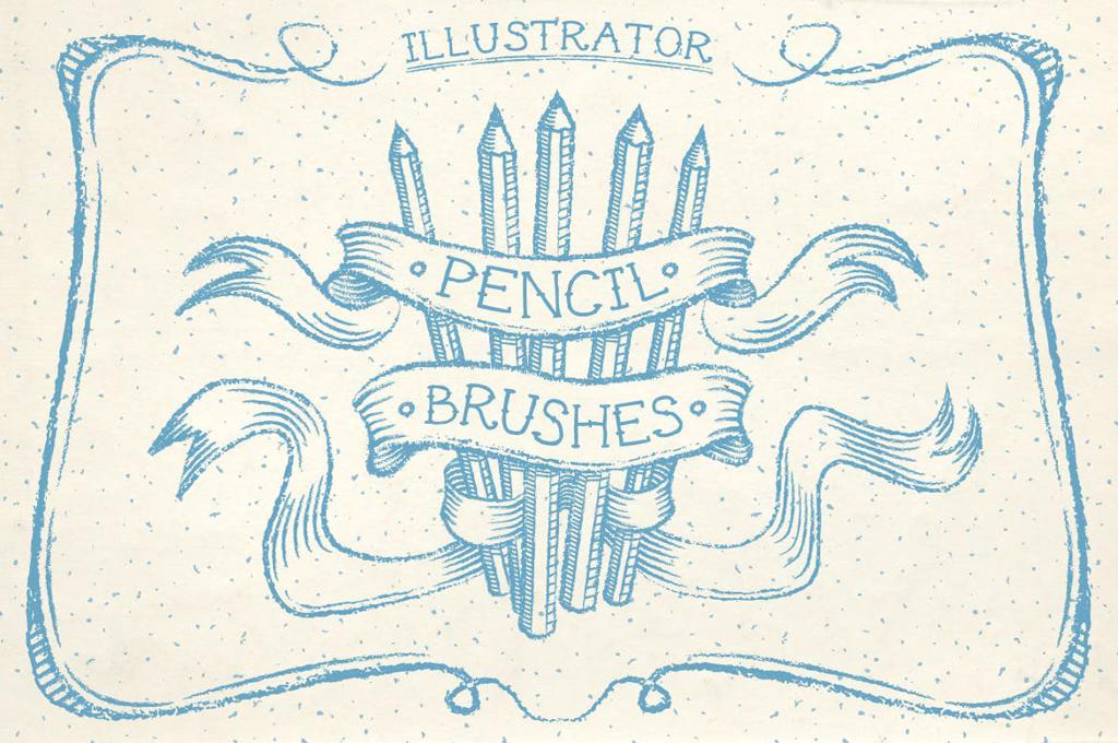 Illustrator Pencil Brushes