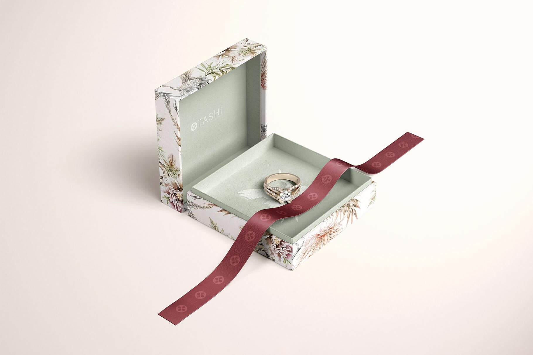Jewelry Box Mockup Set