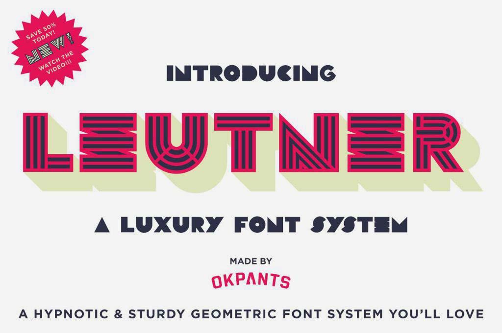 Leutner Font