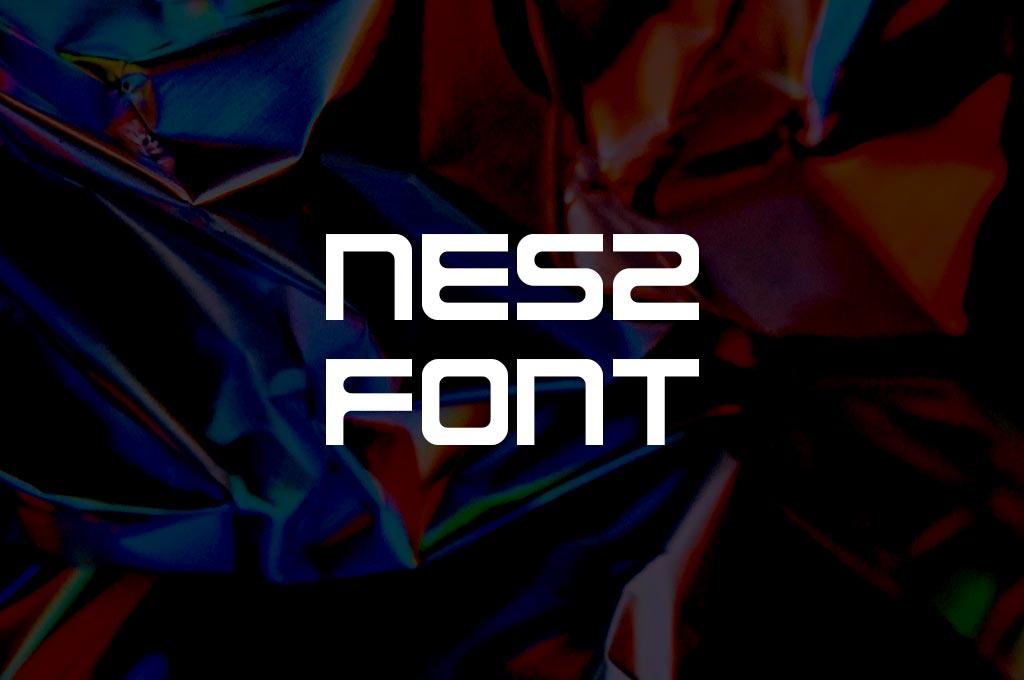 NES2 Font